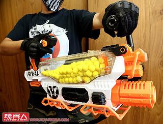 【台灣正式開賣!!!】史上最猛、最痛快的怪物級NERF!【NERF 決戰系列】普羅米修斯 Prometheus MXVIII-20K & 黑帝斯 Hades XVIII-6000