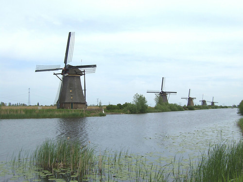 windmills of a UNESCO World Heritage Site
