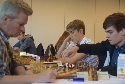 Max Warmerdam in toernooi in Hilversum, 2018