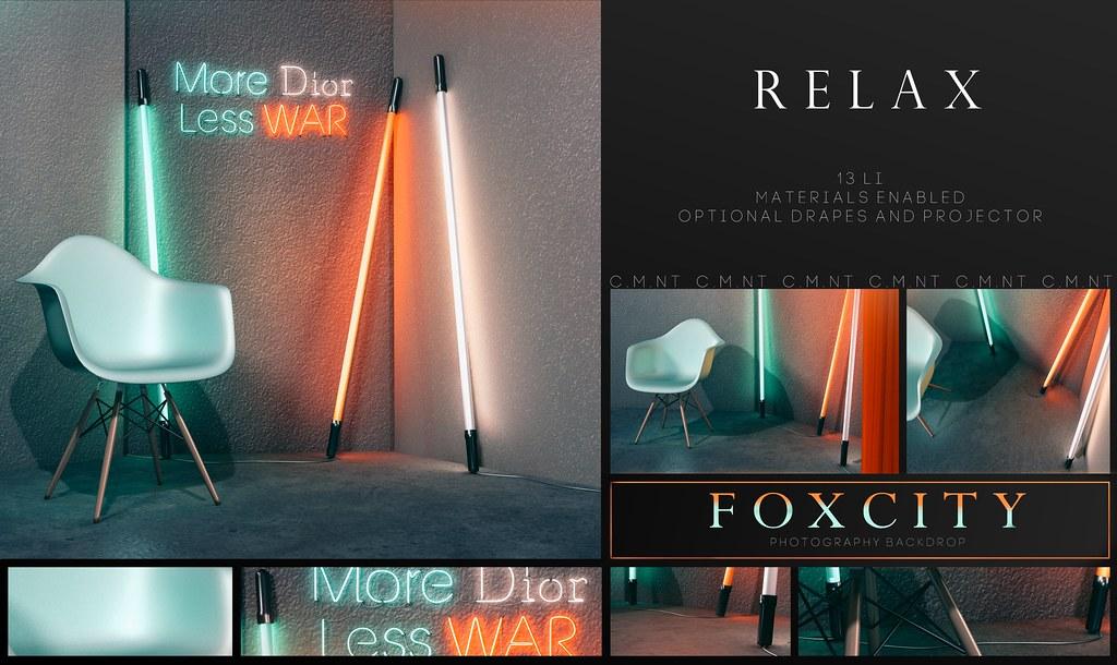FOXCITY. Photo Booth – Relax @ Vanity