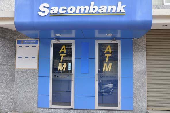 sản phẩm của gia công Mica cho ngân hàng Sacombank