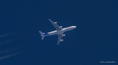 Joon AF415 A340-313 F-GLZP @34000 ft Enroute Fortaleza (FOR) To  Paris (CDG)