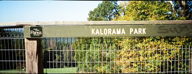 Sign: Kalorama Park