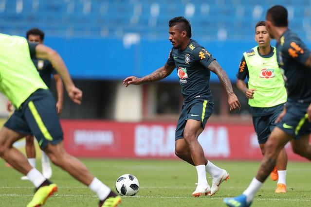 Brasil e Costa Rica fazem jogo de vida ou morte nesta sexta na Arena Zenit