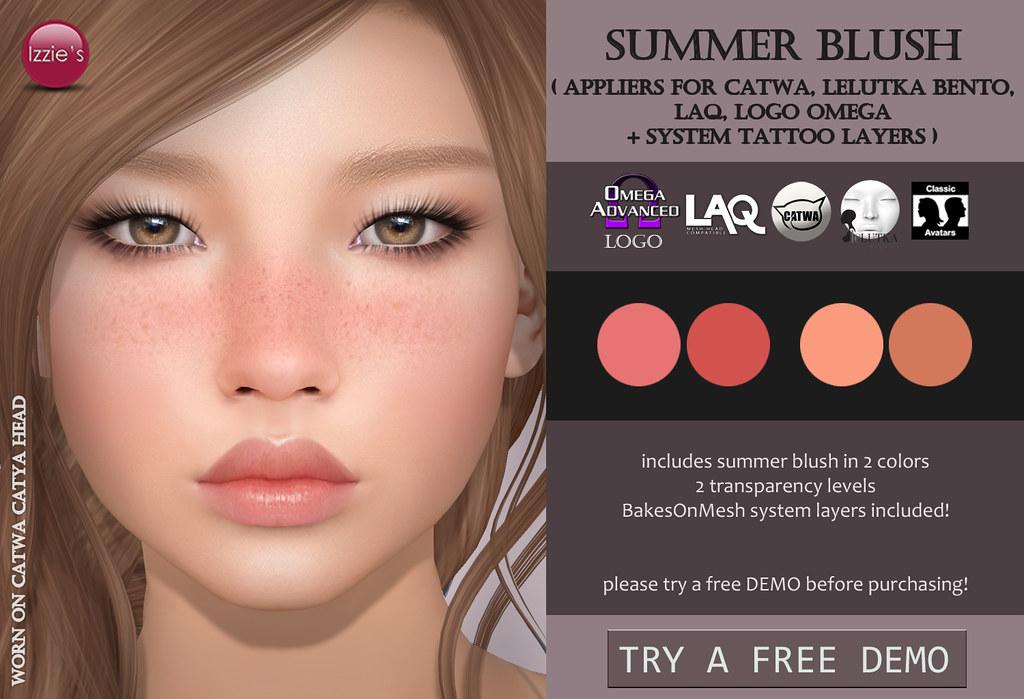 Summer Blush for FLF