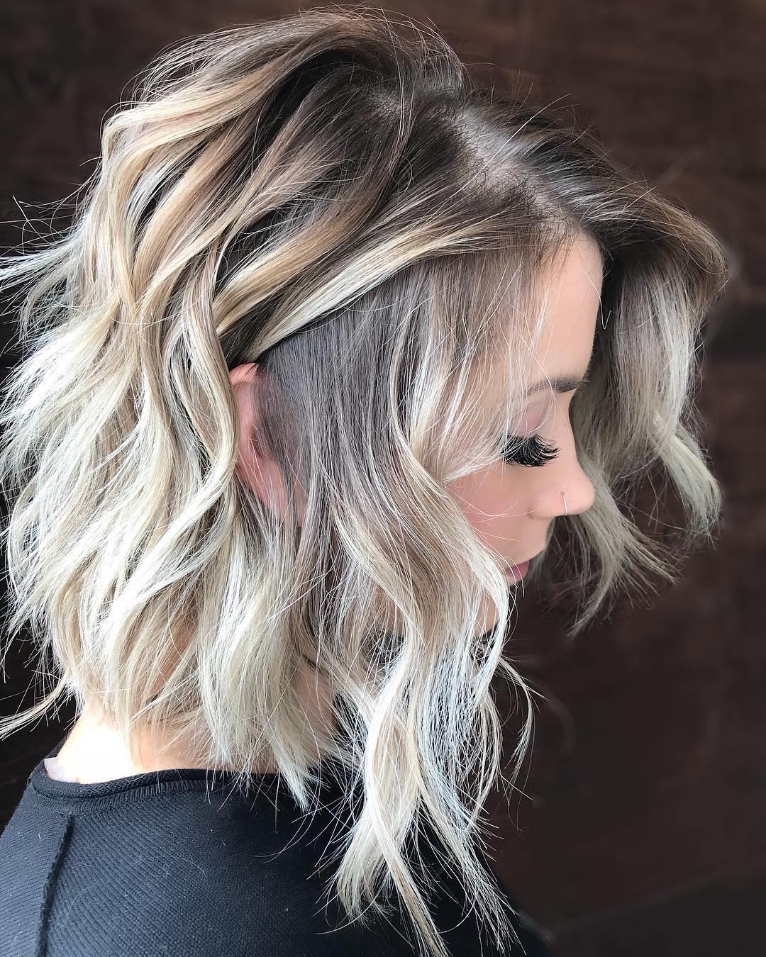 2018 Ombre Balayage Hairstyles For Chic Mid Length Hair ! 2