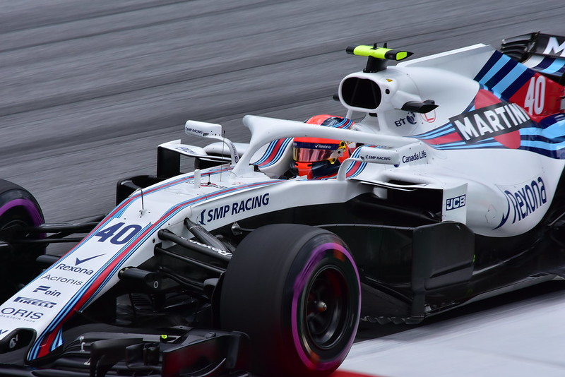 Robert Kubica in FP1, 2018 Austrian Grand Prix