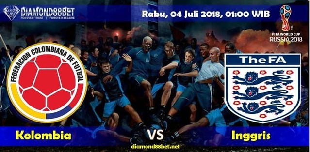 Prediksi Bola Kolombia vs Inggris ,Hari Rabu, 04 Juli 2018 – Piala Dunia