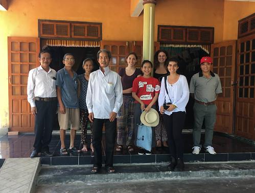 Mr. Phuc, Ms. Thanh, AEPD staff, and Mr. Tam