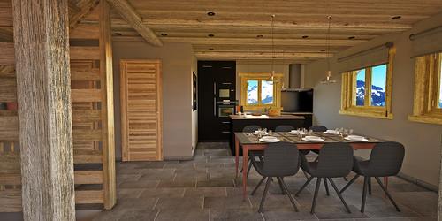 4_HomeMade_Architecture_Chalet_Louise_Le_Grand_Bornand_intérieur_Salle