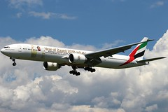 UAE89. Boeing 777-31H(ER). A6-EQH. Emirates (Year of Zayed 2018 Livery