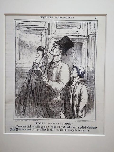 Car je l'admire et l ' adore  : Honoré Daumier !