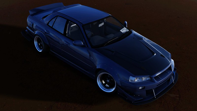 Nissan Skyline Sedan (ER34) - TKS