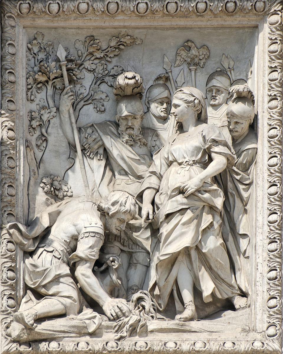 Relief maiden fontana
