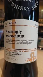 SMWS 68.16 - Pleasingly precocious