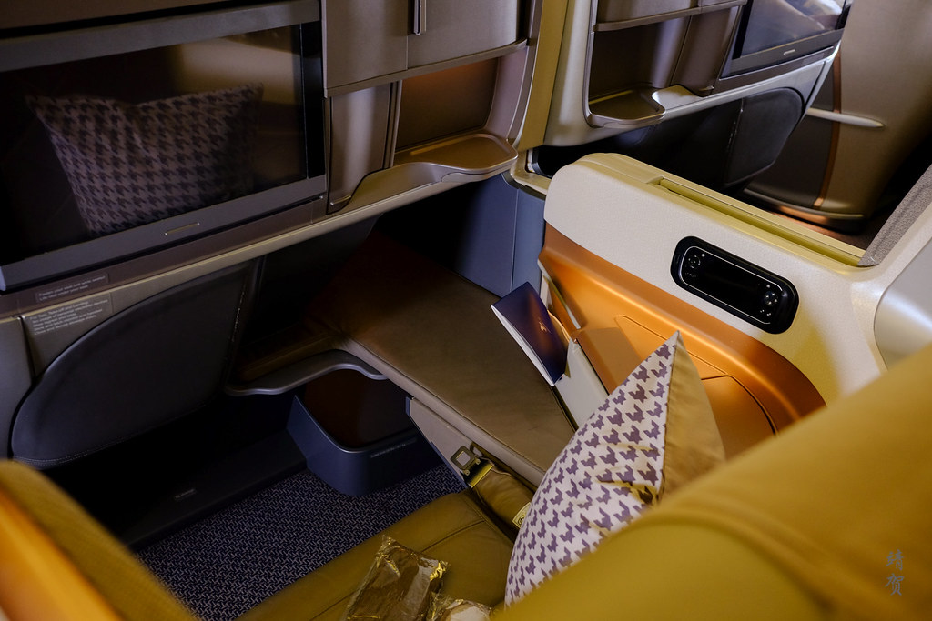 View of the new Business Class seat
