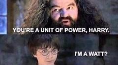 Hagrid knows science