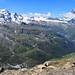 La vue depuis le sommet du Rothorn (3103 m)