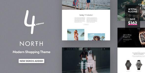 North v4.1.9 - Responsive WooCommerce Theme