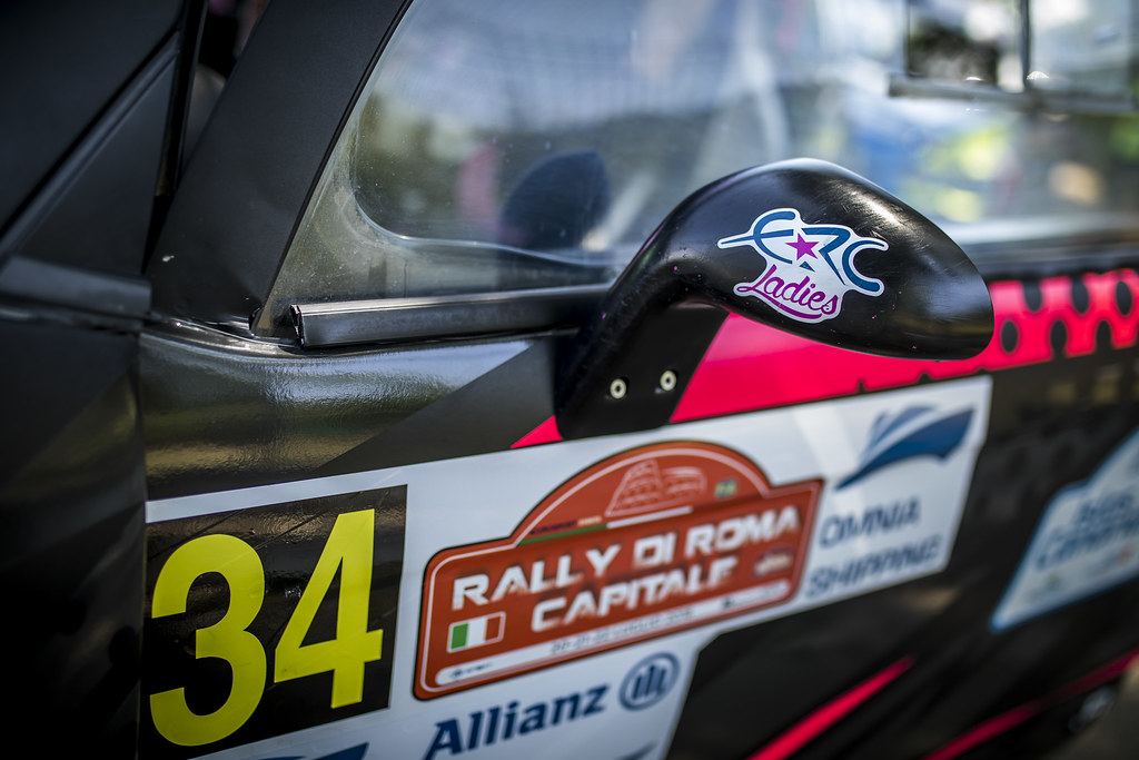 ERC LADIES illustration during the 2018 European Rally Championship ERC Rally di Roma Capitale,  from july 20 to 22 , at Fiuggi, Italia - Photo Gregory Lenormand / DPPI