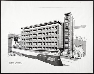 Telephone Exchange, Airedale Street, Auckland