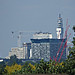 Birmingham skyline from Pershore Road, Stirchley - Arena Central, The Cube and BT Tower
