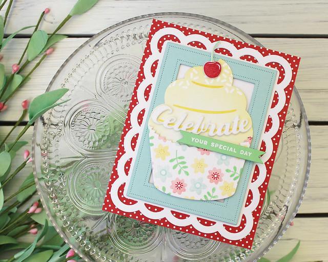 LizzieJones_PapertreyInk_ThrowbackThursday_EnclosedCupcake_CelebrateYourSpecialDayCard
