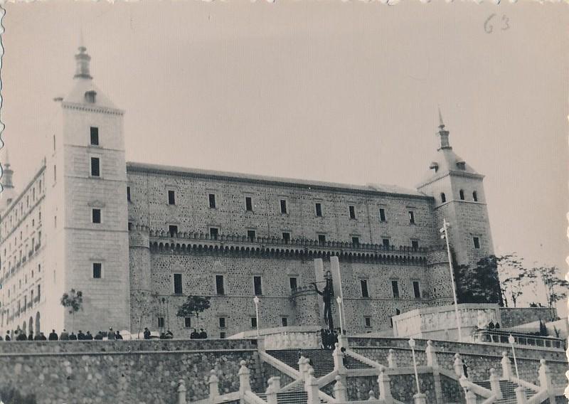 Alcázar hacia 1965. Fotografía de Julián C.T.