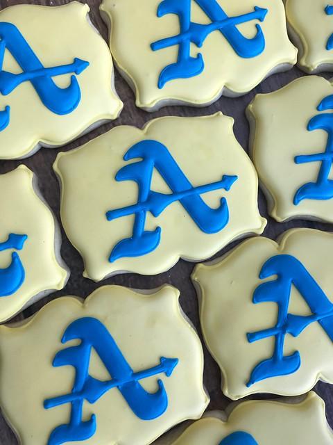 Bishop Amat grad cookies