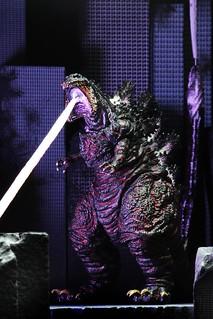 將一切毀滅殆盡的究極姿態!! NECA《正宗哥吉拉》哥吉拉 (原子射線)  2016 Shin Godzilla (Atomic Blast) 6 吋可動作品
