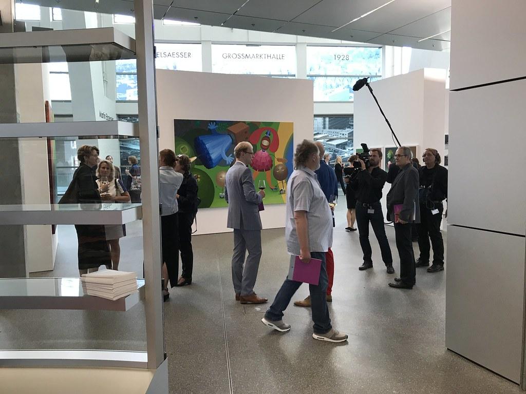 Eesti kunsti näituse avamine EKP-s