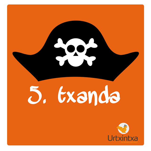 5.txanda Pirata udalekuak 2018