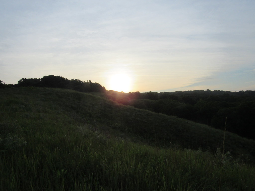 Revis Hill Prairie sunrise
