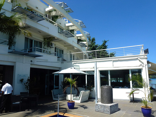 Tillys a well frequented hotel in Port Vila, Vanuatu for business travellers who like a bit of comfort.