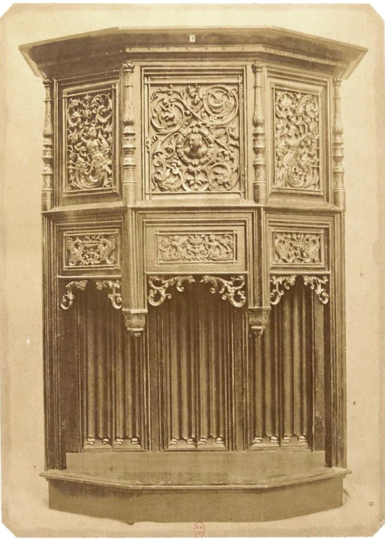1860. Фотографии антикварной мебели, от эпохи Возрождения до конца восемнадцатого века