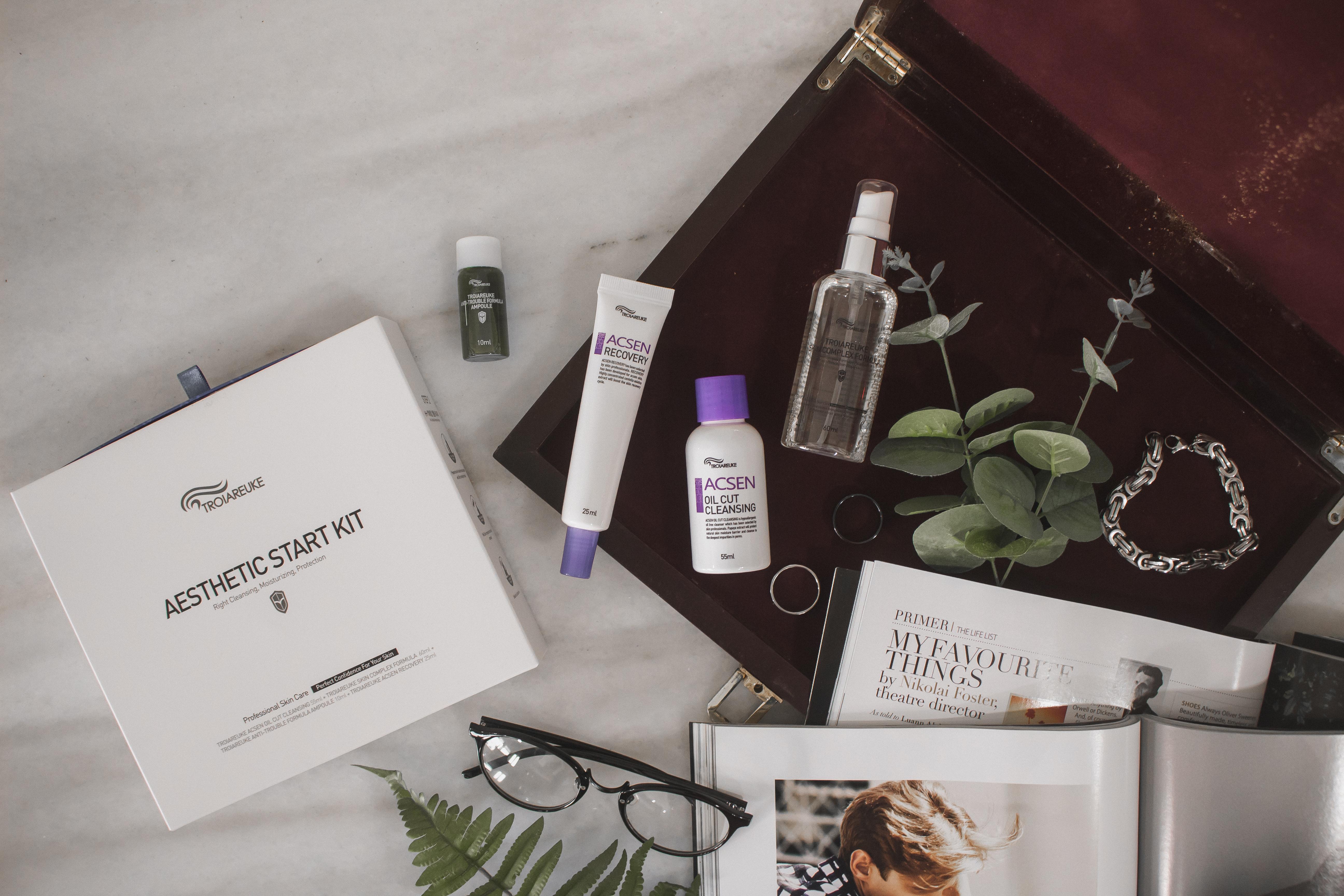 troiareuke aesthetic starter kit review stylekorean gohforit