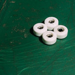 SULIT Fingerboard Wheels - White Debossed