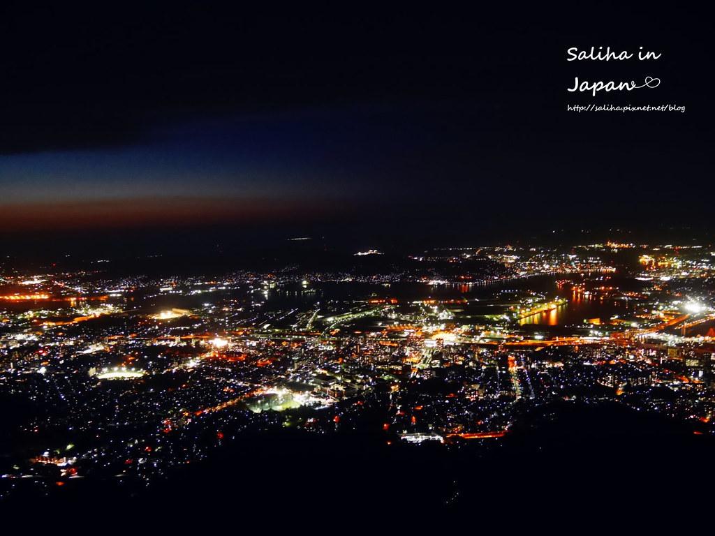 日本九州福岡皿倉山夜景纜車 (1)