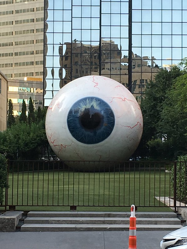 Dallas Eye Sculpture
