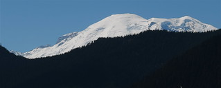 Mt Rainier, from the Snoquera Palisades