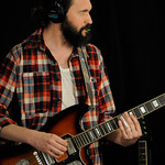 Tue, 19/06/2018 - 2:29pm - Dawes (Taylor Goldsmith, Griffin Goldsmith, Wylie Gelber, Lee Pardini, Trevor Menear) performs in WFUV's Studio A, 6/19/18. Photo by Neil Swanson