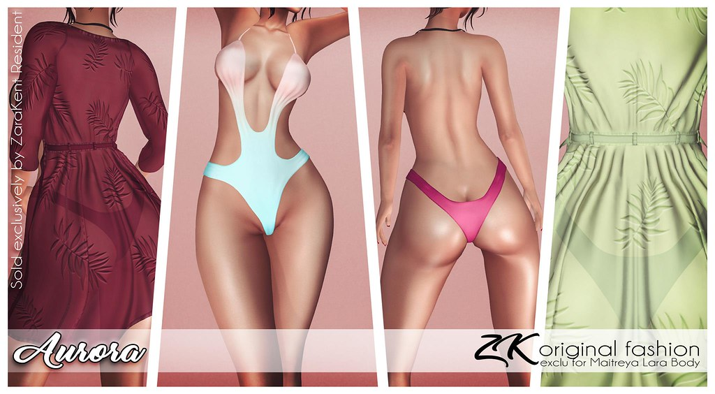 -:zk:-  Aurora swimsuit & bathrobe exclusivity @ Vanity Event - TeleportHub.com Live!