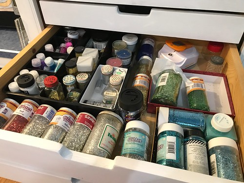 glitter drawer