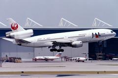 Japan Airlines | McDonnell Douglas DC-10-40 | JA8541 | Hong Kong Inter