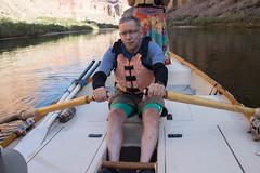 Dan rowing
