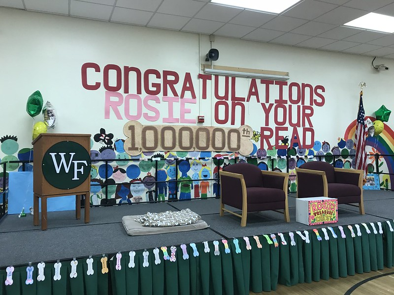 "Nathaniel Woodhull Elementary ""Rosie"" Celebration of One Million Reads"