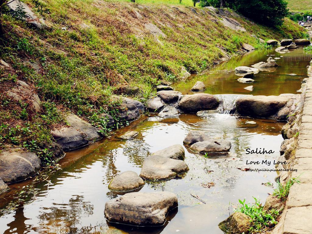台北內湖一日遊親子玩水景點大溝溪親水公園 (2)