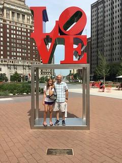 Mark shows Erika, his pretty niece, around Philadelphia