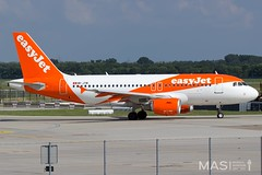 easyJet A319-100 HB-JYM @ MUC