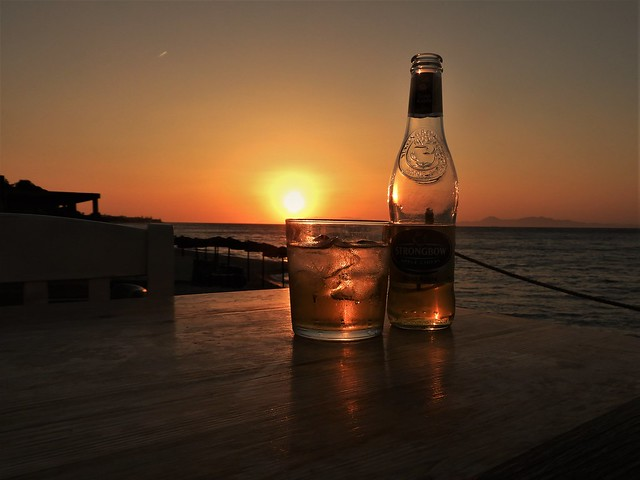 Strongbow sunset